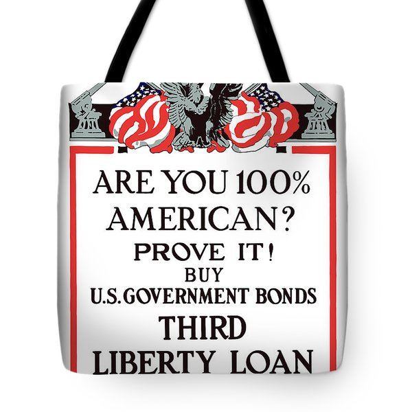 Buy U.s. Government Bonds Tote Bag
