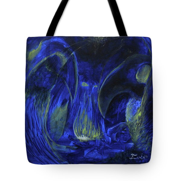 Buzzards Banquet Tote Bag by Christophe Ennis
