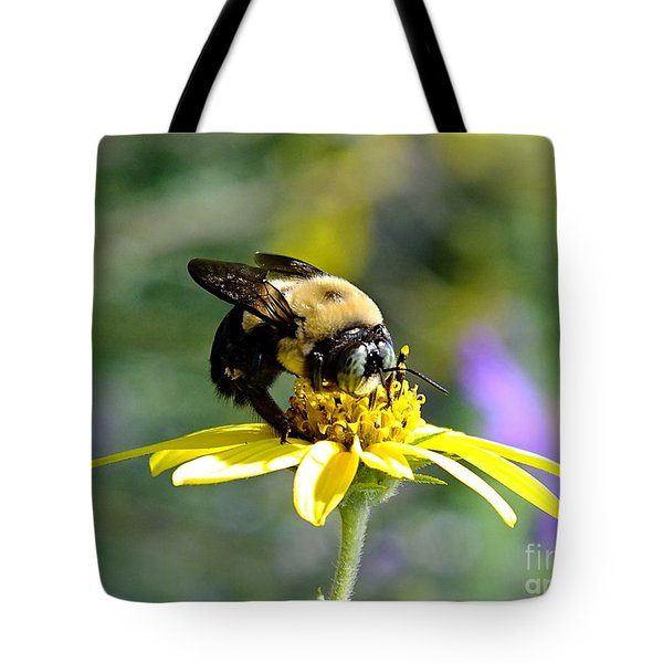 Buzzing By Tote Bag