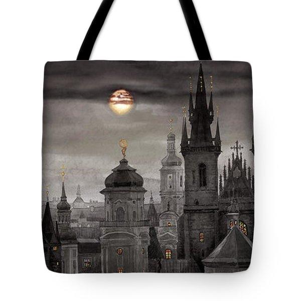 Bw Prague City Of Hundres Spiers Tote Bag