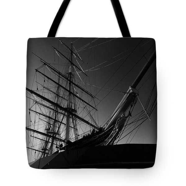 Bw Series Cutty Sark Five Tote Bag
