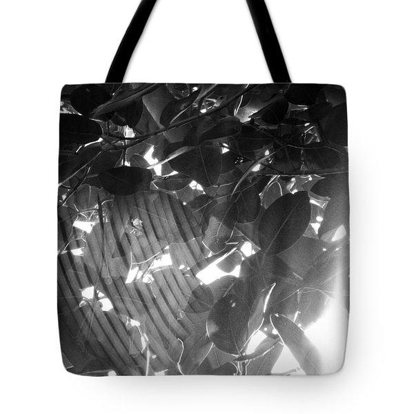 Bw Shadow Threads Tote Bag