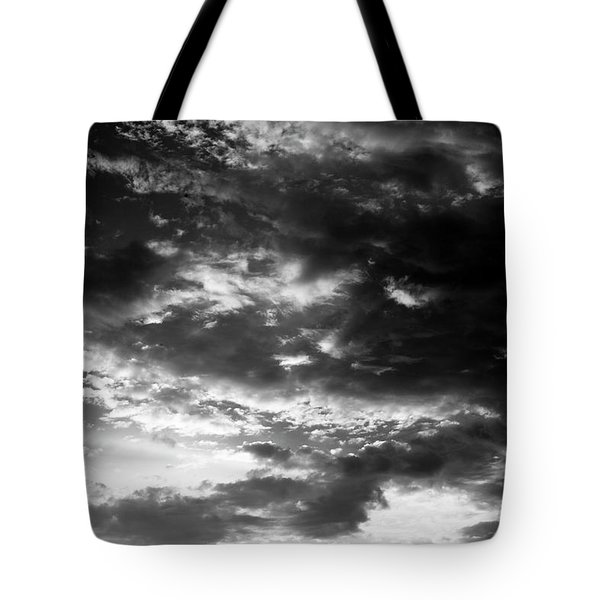 Tote Bag featuring the photograph Bw Sky by Eric Christopher Jackson