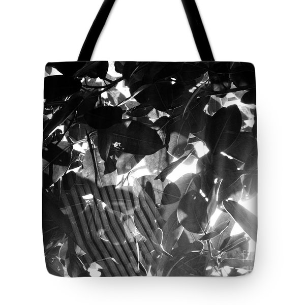 Tote Bag featuring the photograph Bw Spider Phenomena by Megan Dirsa-DuBois