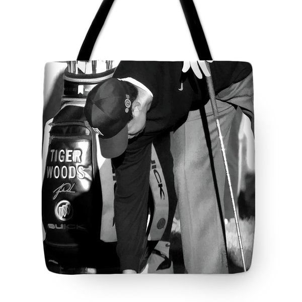 Bw Tiger Woods Tee II Tote Bag