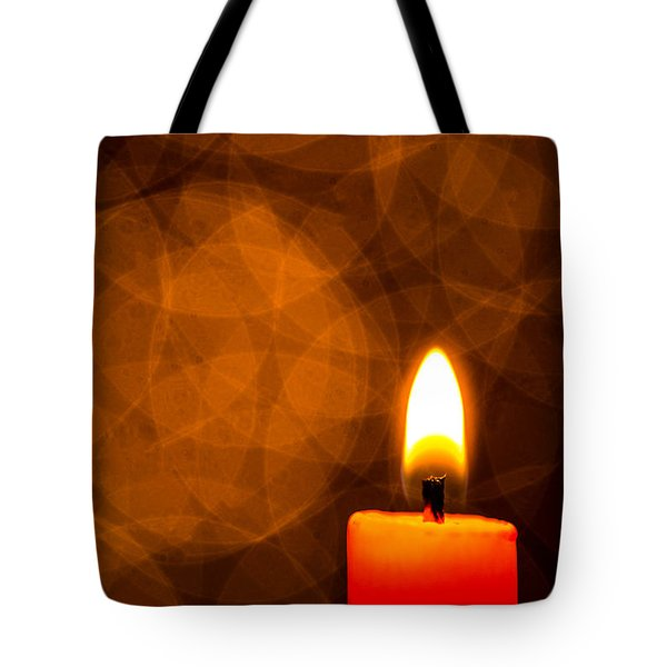 By Candle Light Tote Bag