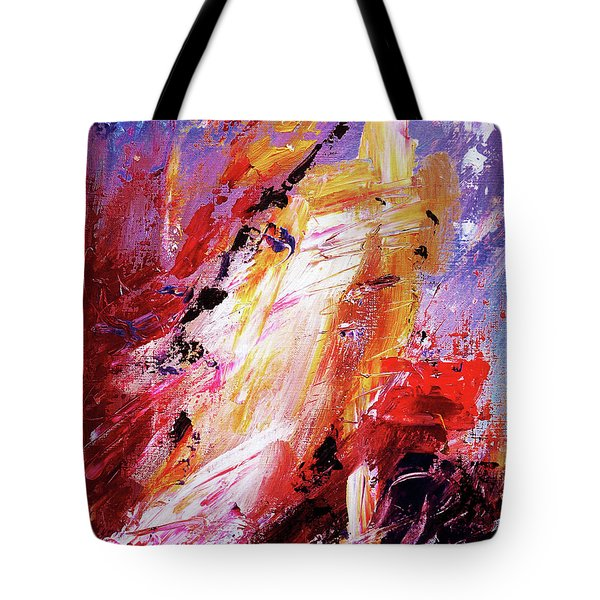By Herself 3 Tote Bag by Jasna Dragun