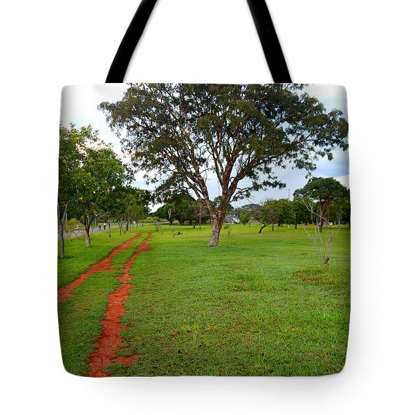 Tote Bag featuring the photograph By My Side by Beto Machado