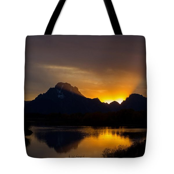 By Oxbow Light... Tote Bag