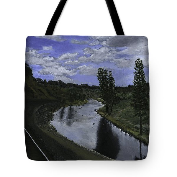 By Rail Tote Bag