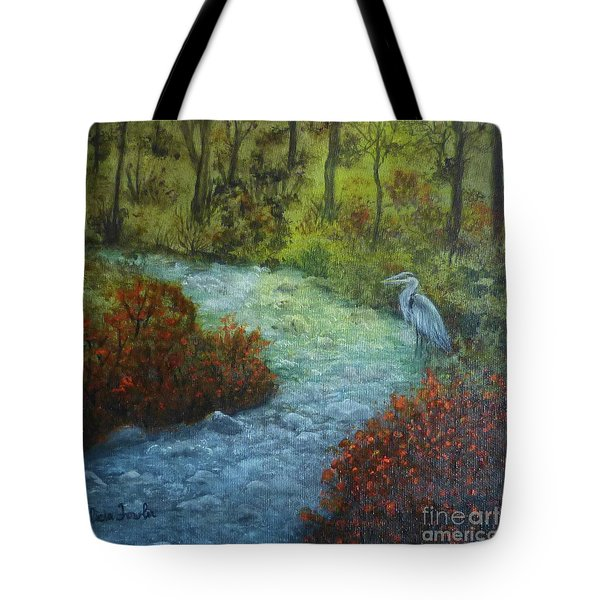 By The Brook Tote Bag