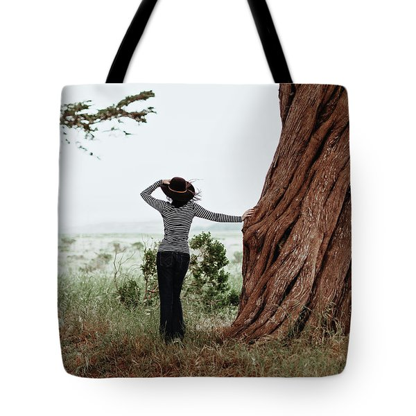 By The Cypress Tote Bag