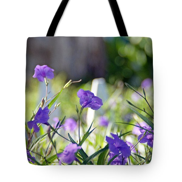 By The Fence Tote Bag
