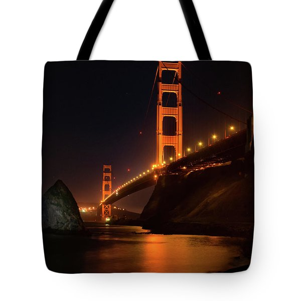 By The Golden Gate Tote Bag