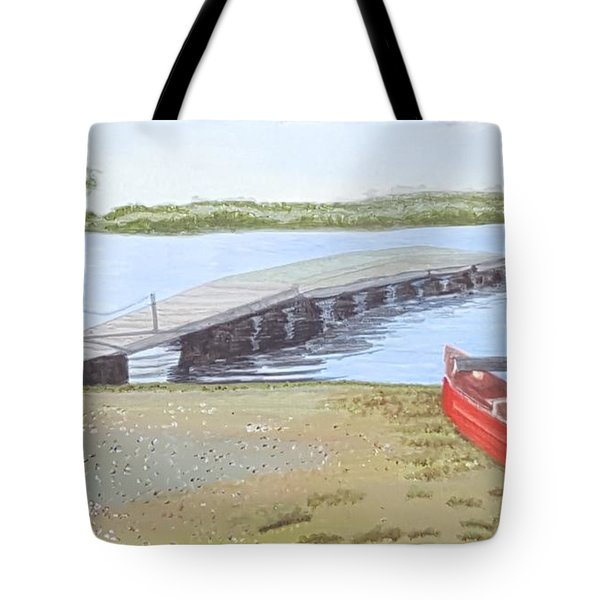 By The Lake Tote Bag by Joanne Perkins