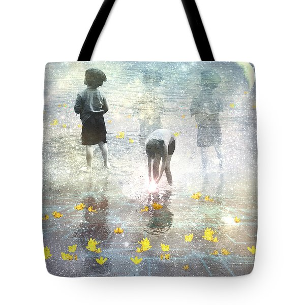By The Light Of The Magical Moon Tote Bag