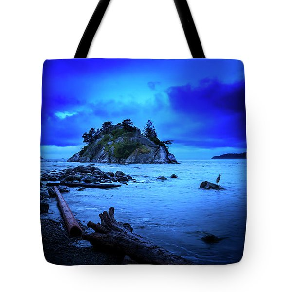 Tote Bag featuring the photograph By The Light Of The Moon by John Poon