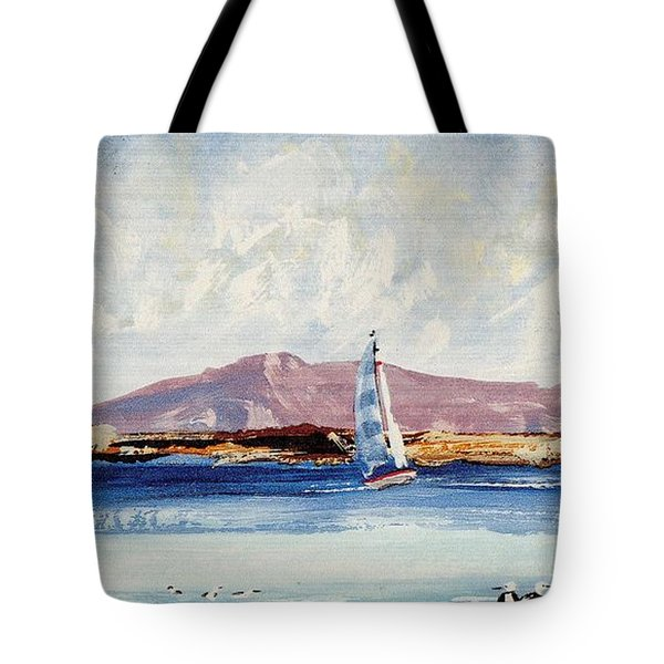 By The Lighthouse Tote Bag