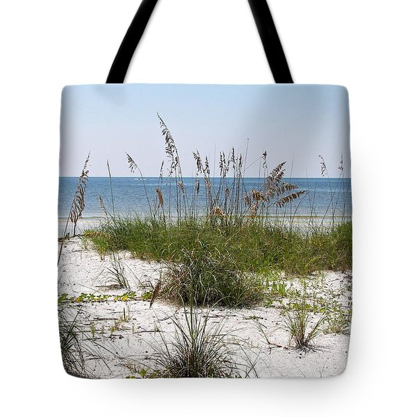 Tote Bag featuring the photograph By The Sea by Carol  Bradley