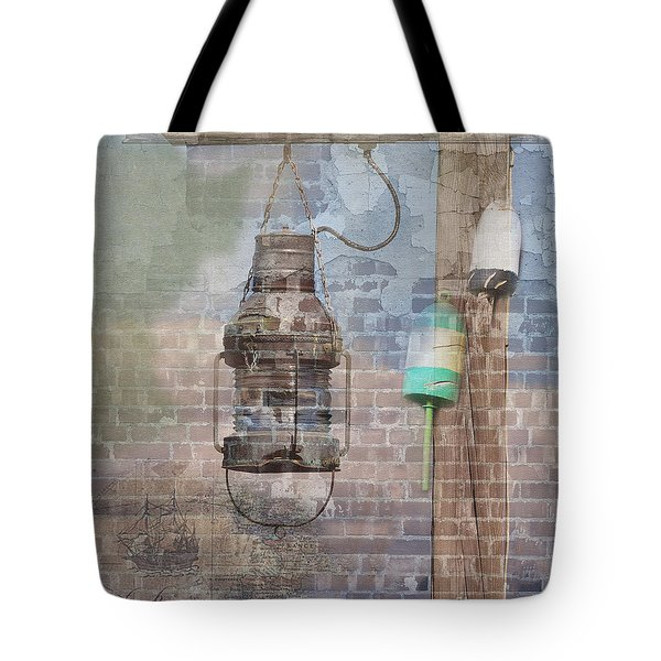 By The Sea In Color Tote Bag by Betty LaRue