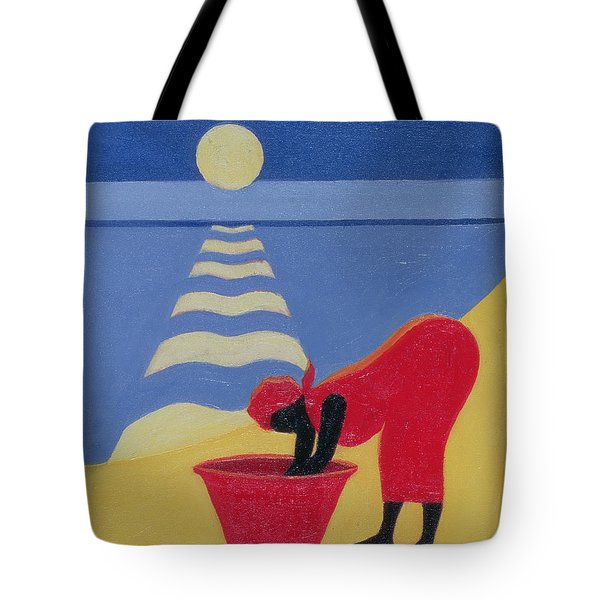 By The Sea Shore Tote Bag by Tilly Willis