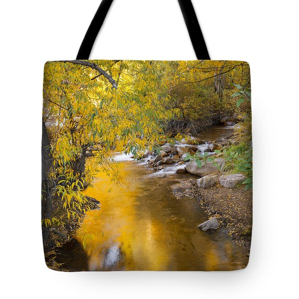 By The Shimmering Brook Tote Bag