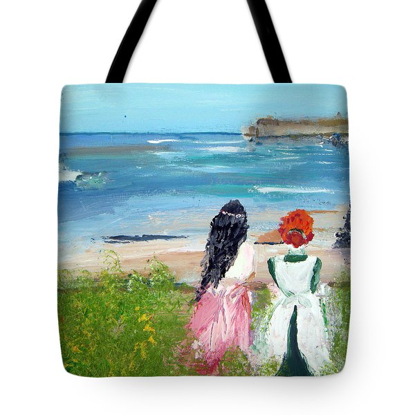 By The Shores By Colleen Ranney Tote Bag