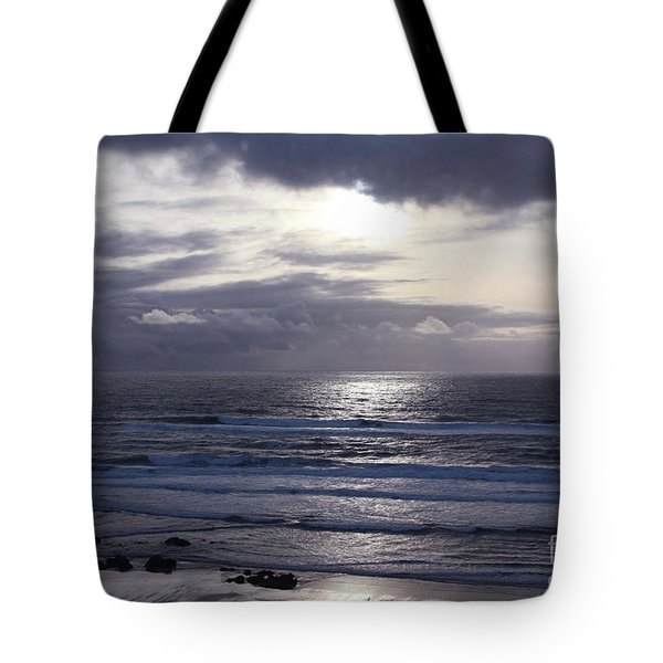 By The Silvery Light Tote Bag
