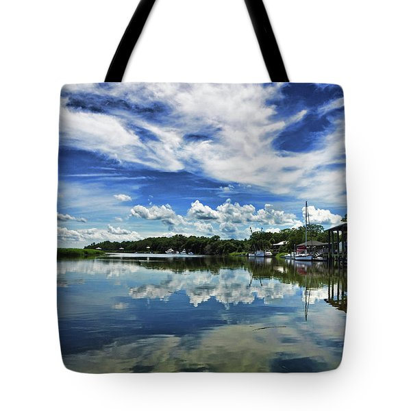 By The Still River Tote Bag