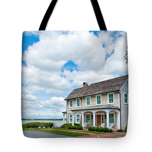 By The Water In Oxford Md Tote Bag