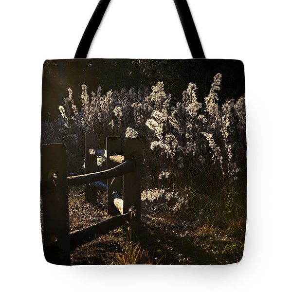 Tote Bag featuring the photograph By The Way by Steven Sparks