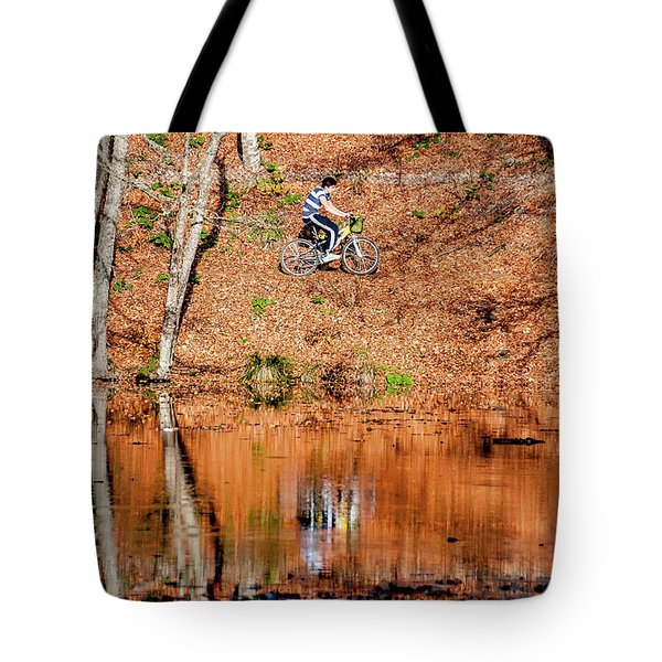 Bycyle Tote Bag