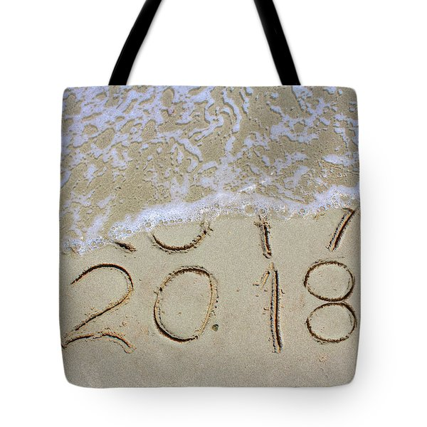 Bye Bye 2017 Welcome2018 Tote Bag