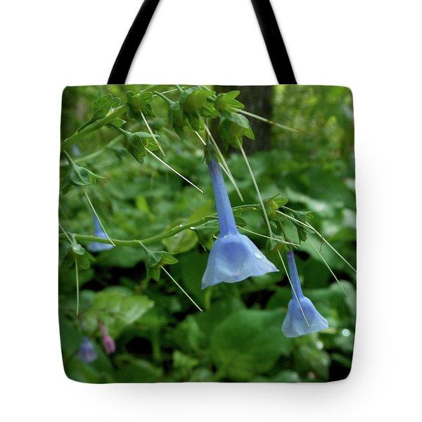Bye Bye Bluebells Tote Bag
