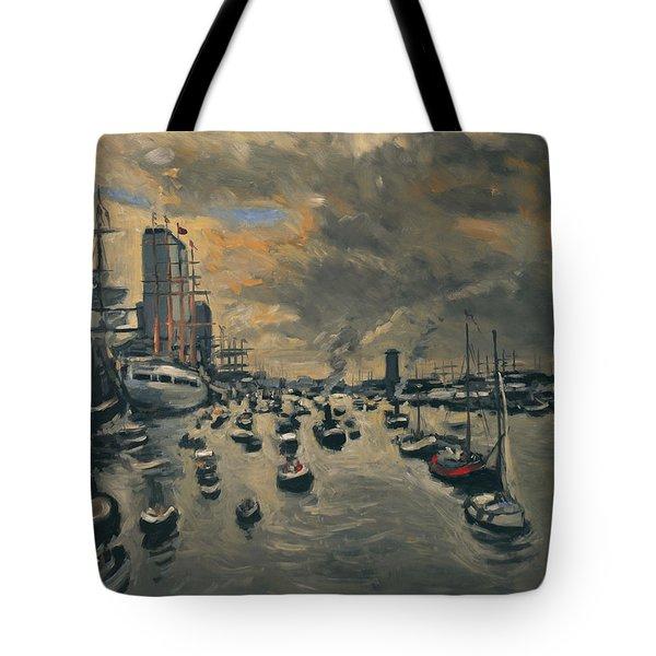 Bye Bye Sail Amsterdam Tote Bag