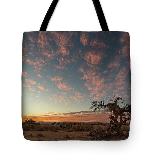 Bye Bye To Sunset Tote Bag