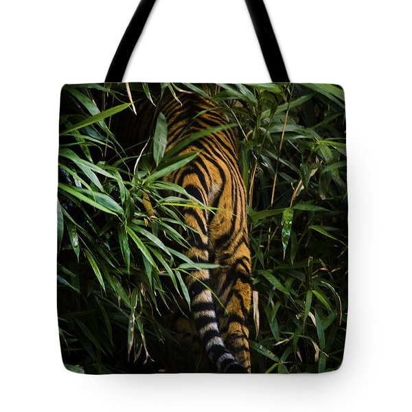 Tote Bag featuring the photograph Bye by Cheri McEachin