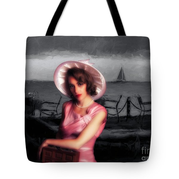 Bygone  ... Tote Bag by Chuck Caramella