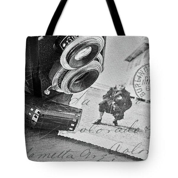 Bygone Memories Tote Bag by Patrice Zinck
