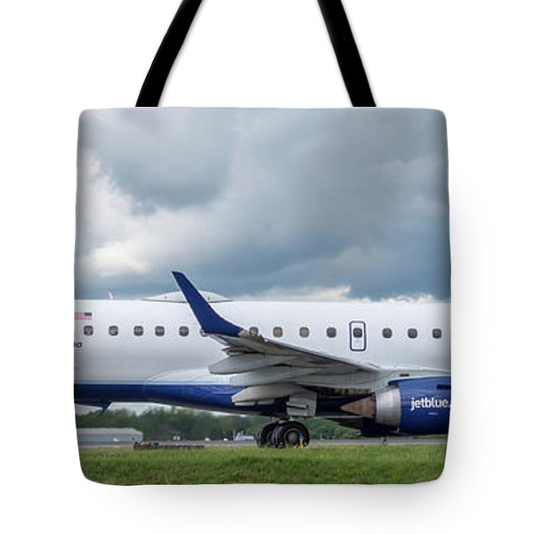 Tote Bag featuring the photograph Byo Blue by Guy Whiteley