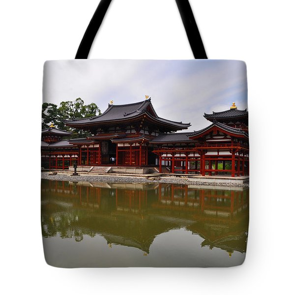 Byodoin Temple Tote Bag