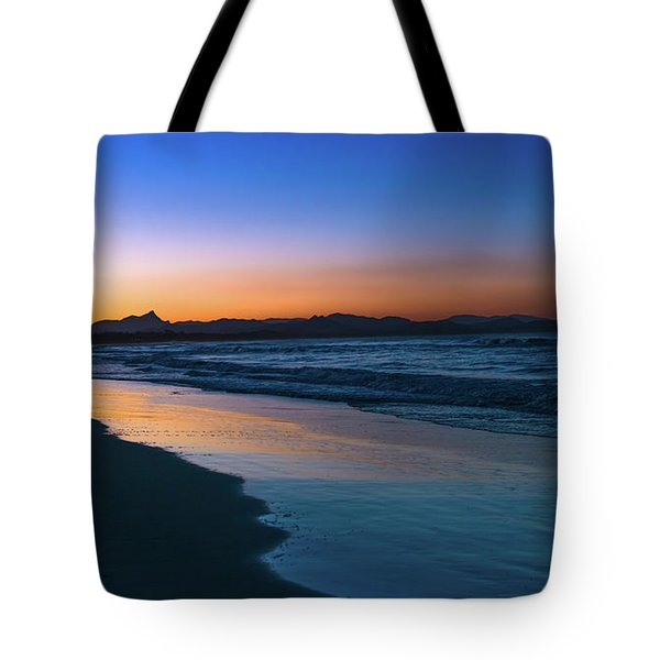 Byron Bay After The Sun Sets Tote Bag