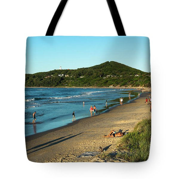 Byron Bay Main Beach Tote Bag