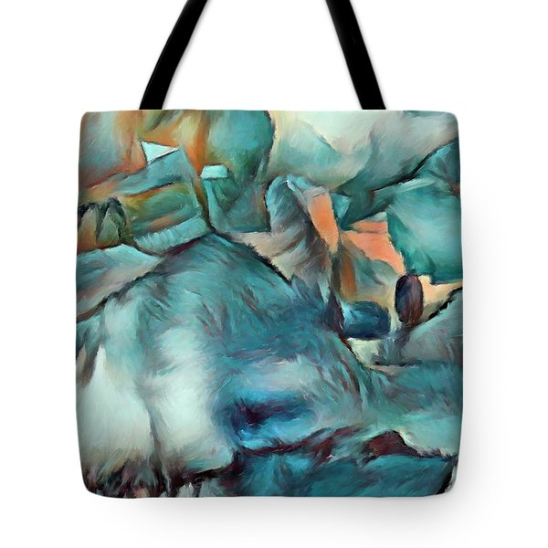 Byzantine Abstraction Tote Bag