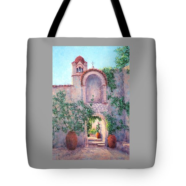 Byzantine Archway Tote Bag by Jill Musser