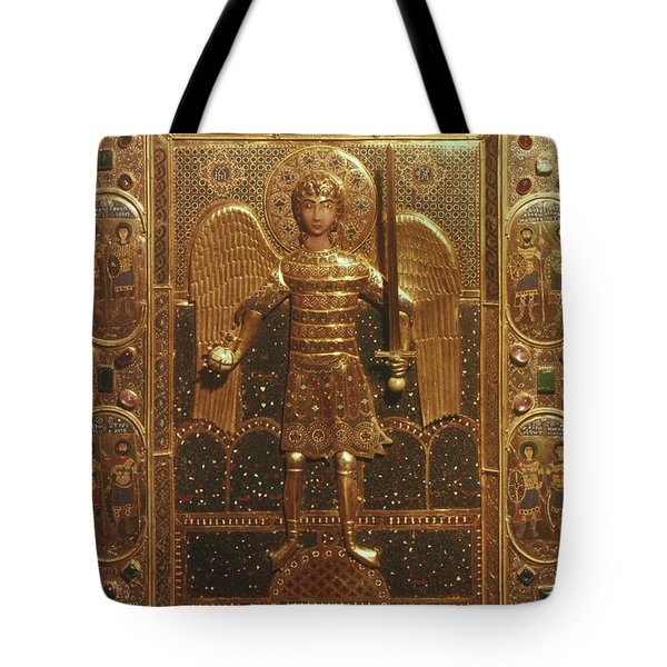 Byzantine Art: St. Michael Tote Bag by Granger