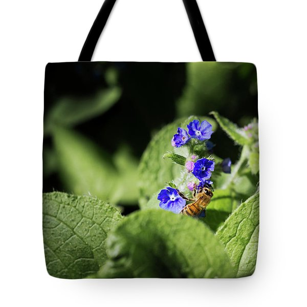 Tote Bag featuring the photograph Bzzz... by Helga Novelli