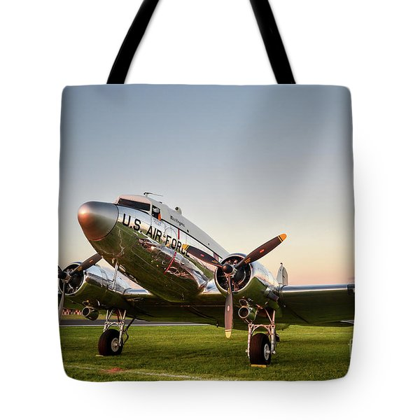 C-47 At Dusk Tote Bag