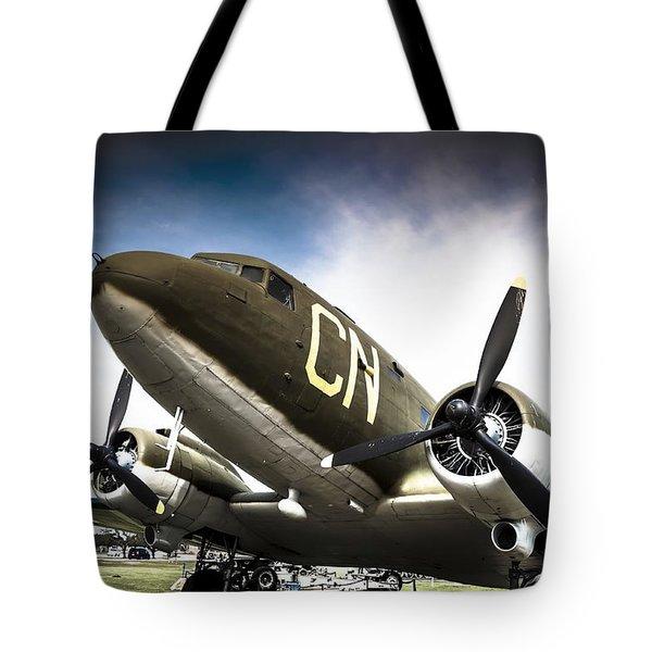 C-47d Skytrain Tote Bag