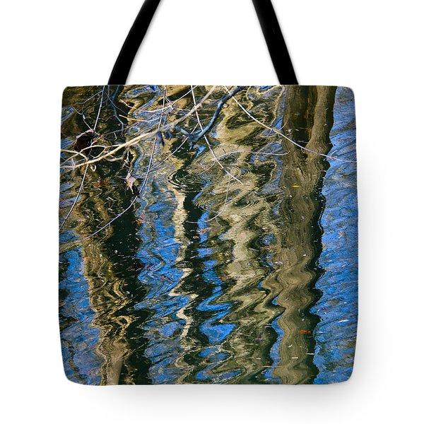 C And O Abstract Tote Bag